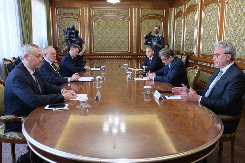 Альфа-Банк будет финансировать проекты Новосибирской области  1