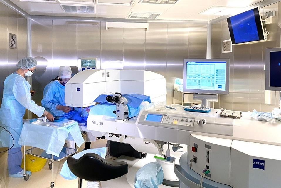 Операционная лазерной коррекции зрения на Ясной, 31