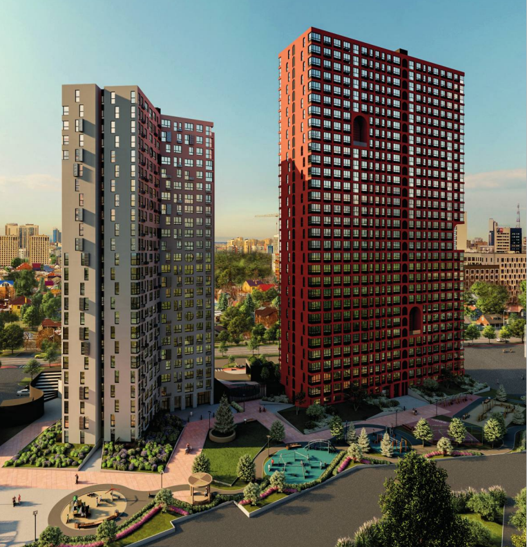 Соседский центр с коворкингом и яркая архитектура: каким будет новый квартал на юге Центра 1