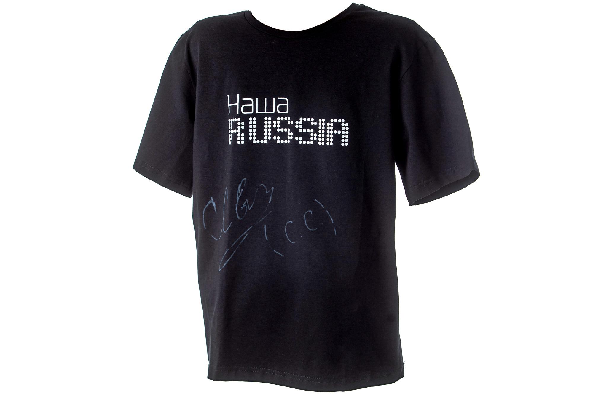 Футболка с автографом Сергея Светлакова
