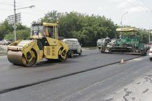 Из-за расширения Мочищенского шоссе сузилась проезжая часть