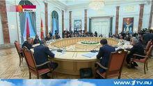 Встреча Путина и Порошенко в Минске: видео опубликовано в сети