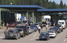 Остановлено автомобильное движение на российско-финской границе