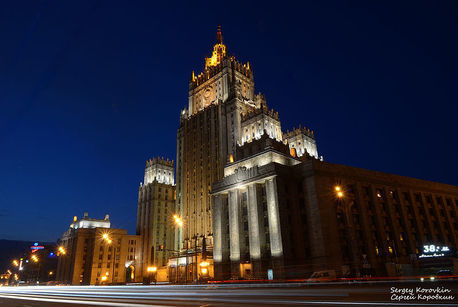 В Киеве освобождены сотрудники российского посольства