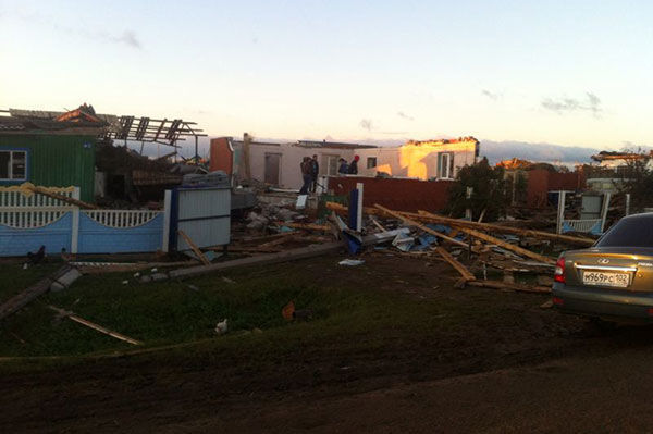 Ураган в Башкирии 29.08.14: администрации пострадавших районов начали сбор помощи