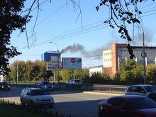 Тушить пожар в екатеринбургском отеле «Атлантик» выехали почти 100 пожарных