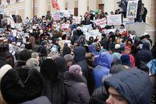 В Томске горожане вышли на пикет против закрытия телекомпании ТВ-2