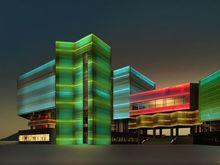 Ярославская компания спроектировала фасад Культурно-исторического центра в Красноярске