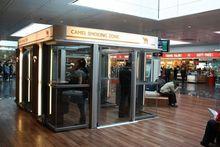 В челябинском аэропорту ограничено курение