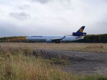 Из-за погодных условий самолет Lufthansa Cargo не смог приземлиться в Красноярске