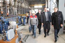 В Ирбите запустили трубный завод