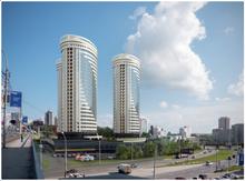 Новый жилой комплекс в виде трех лайнеров возведут в Новосибирске