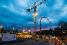 При строительстве жилого комплекса по ул. Кирова в Новосибирске применили новую технологию