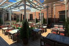 В Челябинске вновь откроется летняя веранда ресторана «Дача на Кировке»