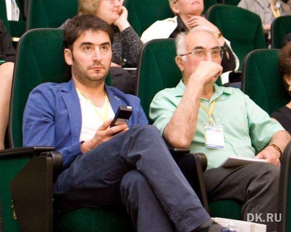 """На фото: Михаил Фейгин, гендиректор """"Очки для вас"""" (слева), Донат Фейгин, основатель компании"""