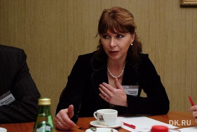 Татьяна Деменок, вице-президент Уральской палаты недвижимости