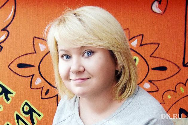 """На фото: Анастасия Овсянкина, владелица изо-студии """"Полосатый кот"""""""