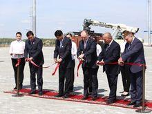 Железнодорожный терминал ТЛК «Южноуральский» запущен