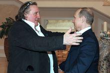 Жерар Депардье признался в любви к президенту Путину на встрече в Каннах