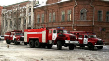 В Ростове пожар на строящемся отеле Hyatt Regency Don-Plaza ликвидирован
