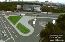В Екатеринбурге началась реконструкция перекрестка Ленина-Московской