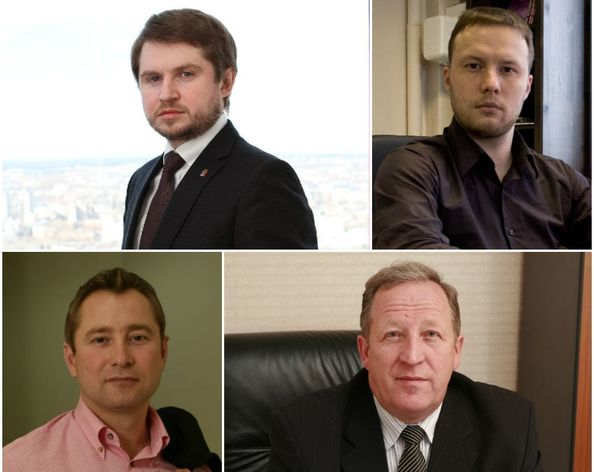 На фото: Алексей Митин, Николай Адеев, Вячеслав Брозовский и Михаил Шуваев