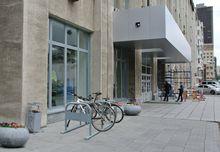 Велосипедисты предложили установить велопарковку у мэрии Новосибирска
