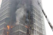 Фасады сгоревших высоток на Шахтеров в Красноярске заменят до конца года