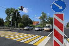 На 134 улицах Новосибирска появилась новая дорожная разметка