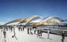 Строительная площадка аэропорта «Южный» пополнилась спецтехникой