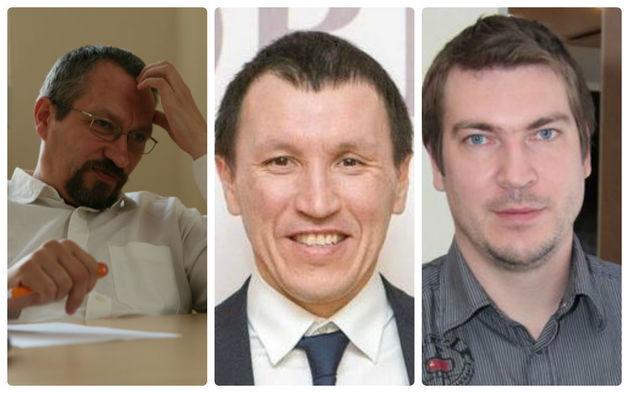 Предприниматели Александр Давыдов, Сергей Мишкин, Евгений Островский