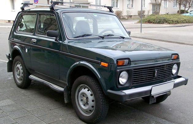 Lada 4x4 пробивается в лидеры продаж в Германии