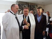 """Борис Дубровский посетил """"Утиные фермы"""", где открылось производство мяса утки"""