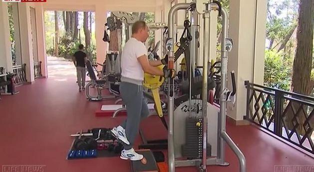 Поставщики тренажеров заработали на тренировке Путина