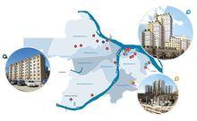 DK.RU составил карту новостроек Нижнего Новгорода