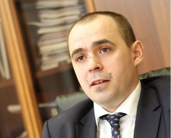Министр промышленности и науки Свердловской области Андрей Мисюра
