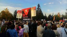 В Челябинске прошел митинг против строительства Томинского ГОКа