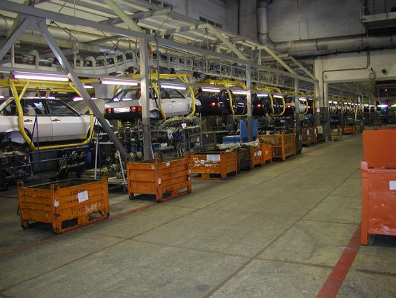 Украина за полгода произвела меньше автомобилей, чем любая другая страна