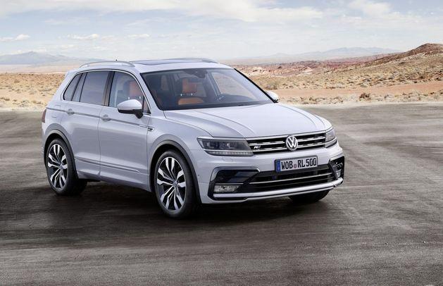 Volkswagen официально представил новый Tiguan
