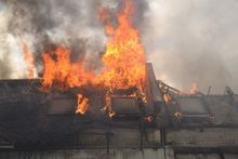 В Челябинске сгорело 16 квартир в таунхаусах
