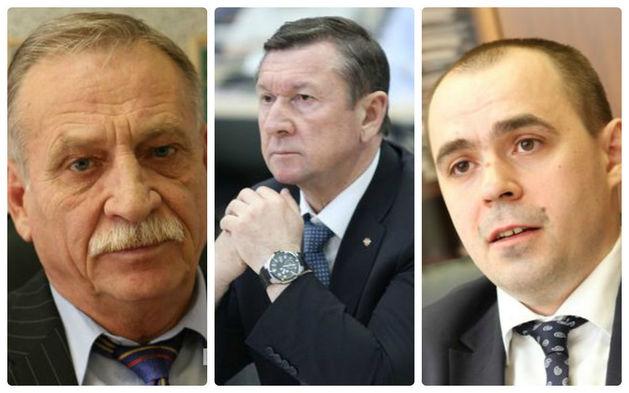 Юрий Ступак («Лорри»), Владимир Колотушкин («Уралэлектромедь»), министр Андрей Мисюра