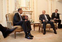 Короткие и неудобные: как проходили встречи Путина и Обамы