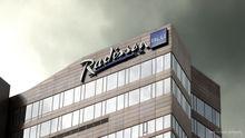 Из-за угрозы взрыва из отеля Radisson Blu эвакуировали постояльцев