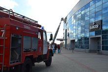 В ледовой арене «Трактор» произошел пожар