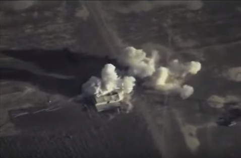На фото: точечные удары по отрядам террористов, блокпостам и военной технике 11 октября