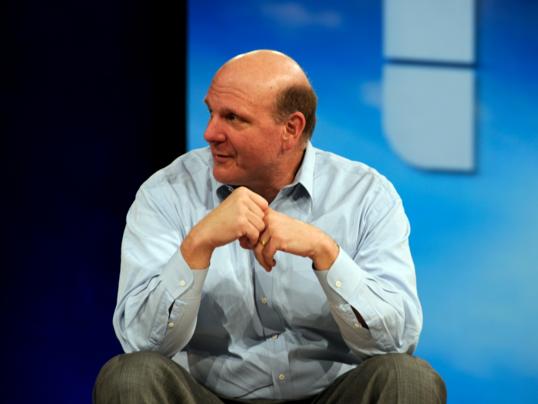 Заявление Стива Балмера о покупке акций Twitter взвинтило их цену на рынке