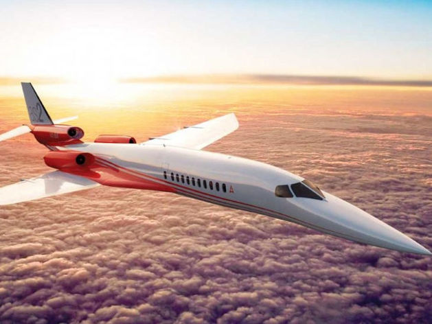 Airbus запатентовал самолет, долетающий из Лондона в Нью-Йорк за час
