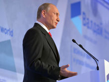 Путин приехал на встречу клуба «Валдай» на новой «Ладе-Весте»