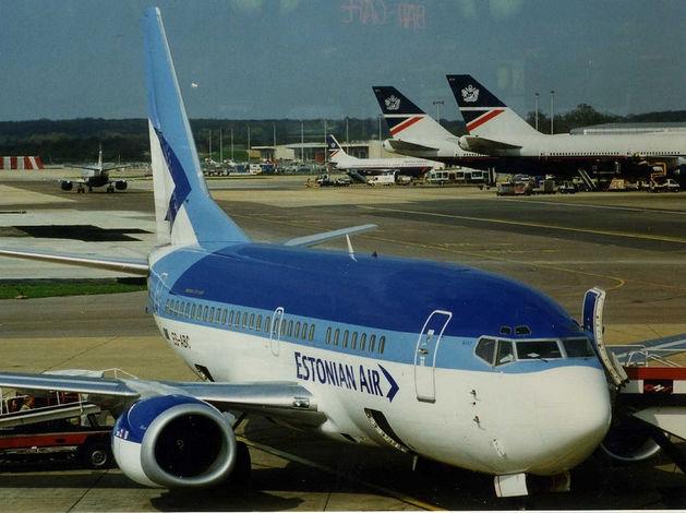 Авиакомпания Estonian Air прекратила полеты, в том числе в Россию