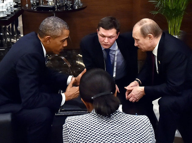 Неожиданный разговор: о чем говорили Обама и Путин на саммите G20